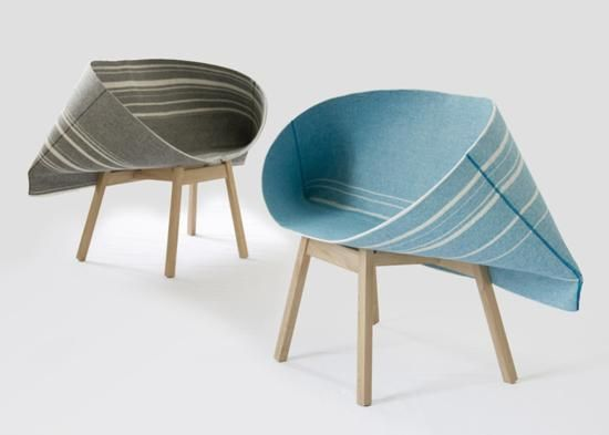 Unusual Chairs | Unique Furniture Design Ideas, Modern Chairs With Pocket  Shaped Weft .