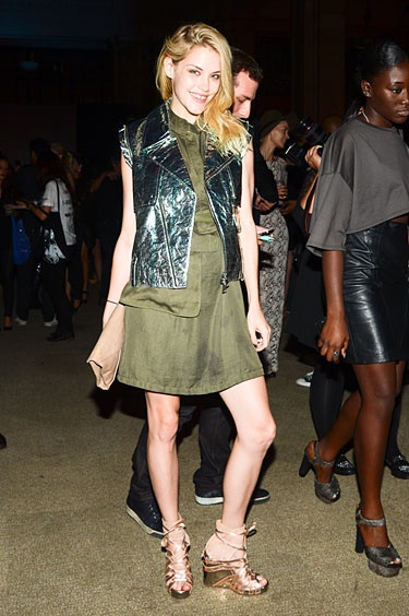 Alexander Wang Afterparty - Ashley Smith in Alexander Wang #nyfw