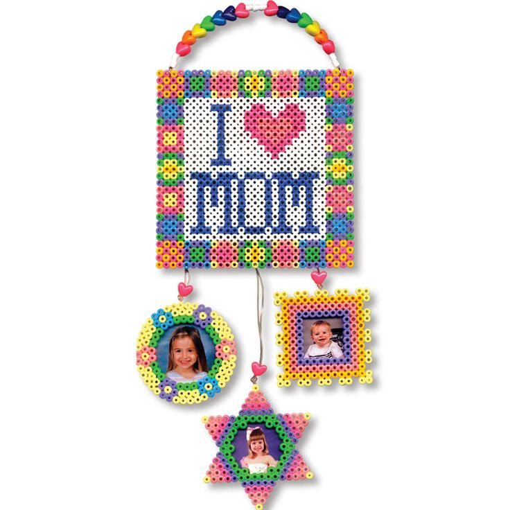 This picture display is a great gift for Mom on her birthday, Mother's Day, or any day! It makes a great surprise project that Dad and kids can work on together.
