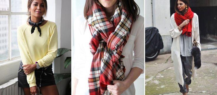 Schals und Tücher sind DIE Must-haves im Herbst 2016. Wir verraten euch, wie die Accessoires jetzt kombiniert werden und wie ihr eure Schals und Tücher stylisch binden könnt...
