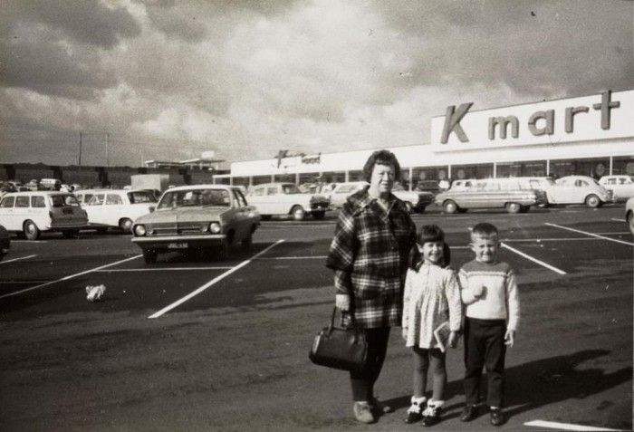 Burwood, Victoria, Australia, 1969. The first kmart in melbourne