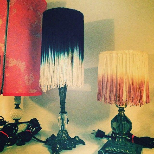 #flamboyantinterieur #byrikkemai #stories #storiesbyrikkemai #soon4sale #newtwotonefringelampshades