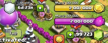 Already it is! The long-awaited publication of Clash of Clans Cheat. The tool generates Unlimited Gold, Gems, Elixir, Shield Hack, Max XP Level.