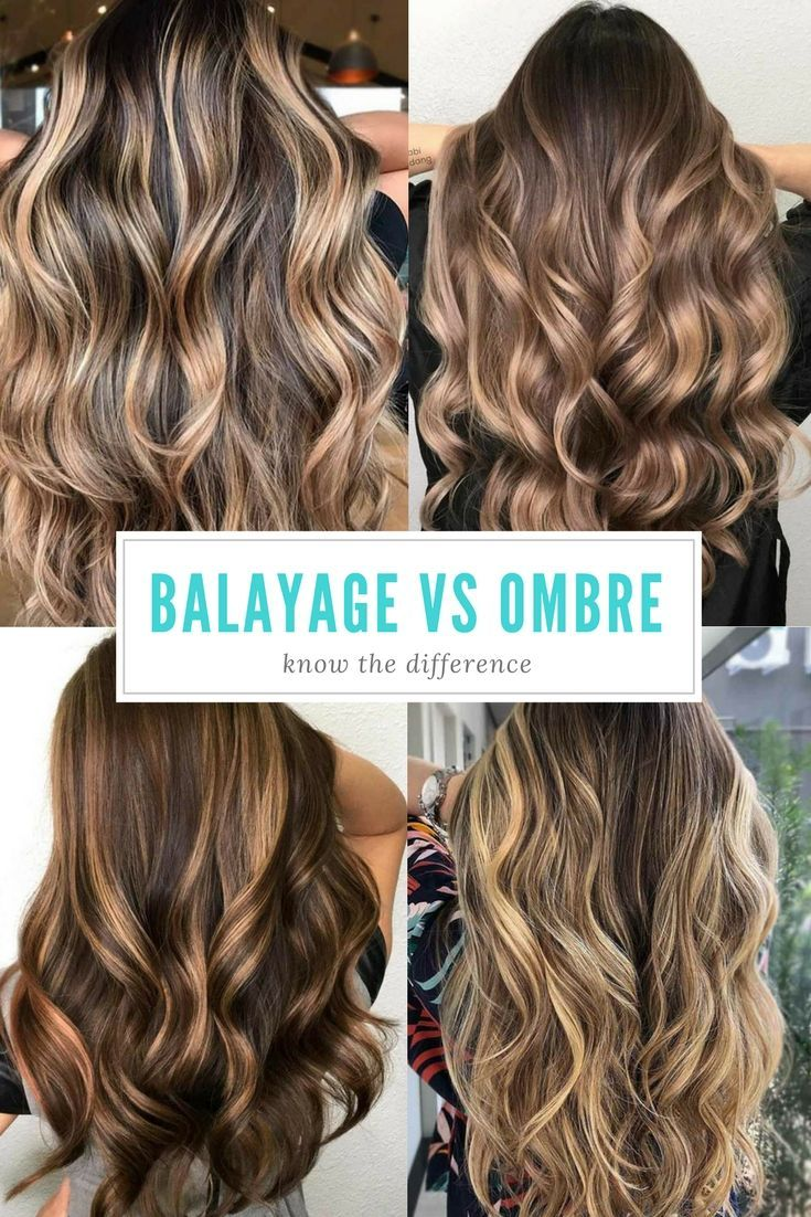 Hair Color 2017/ 2018 Balayage vs ombre, so what is the