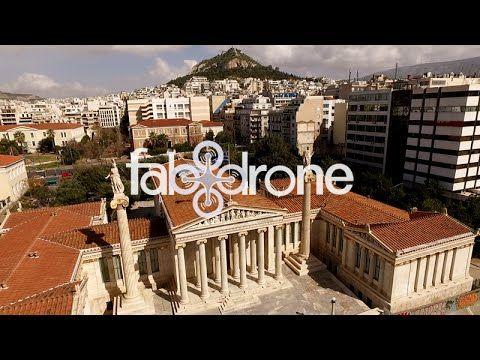 Academy, University, Library - Athens - Η Ακαδημία & Πανεπιστήμιο από ψηλά - YouTube