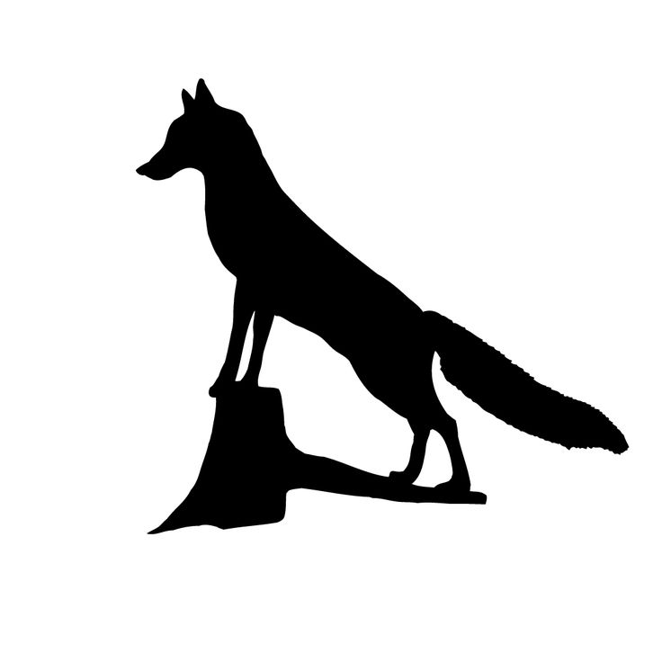 31 Best Fox Templates Images On Pinterest Fox Silhouette