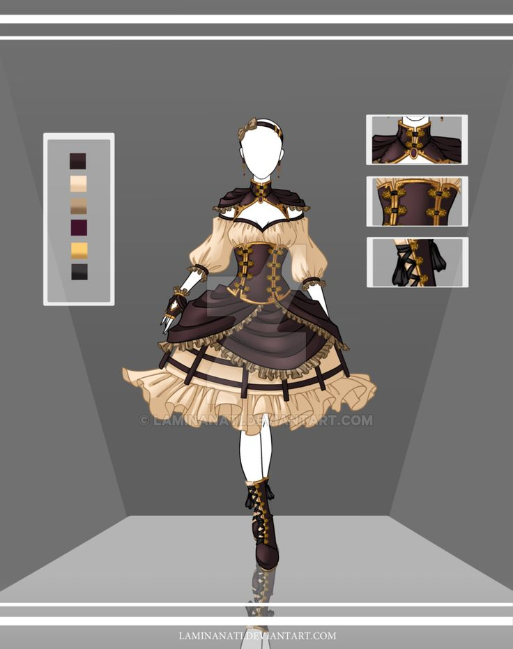 Adoptable Outfit Auction 41(closed) by LaminaNati.deviantart.com on @DeviantArt
