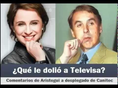 Carmen Aristegui responde a Televisa. Por eso te amo Aristegui!