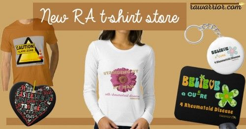 New Rheumatoid Arthritis T-shirt Store