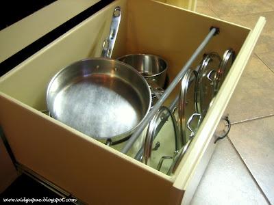 Pot Lid Organizer #organization