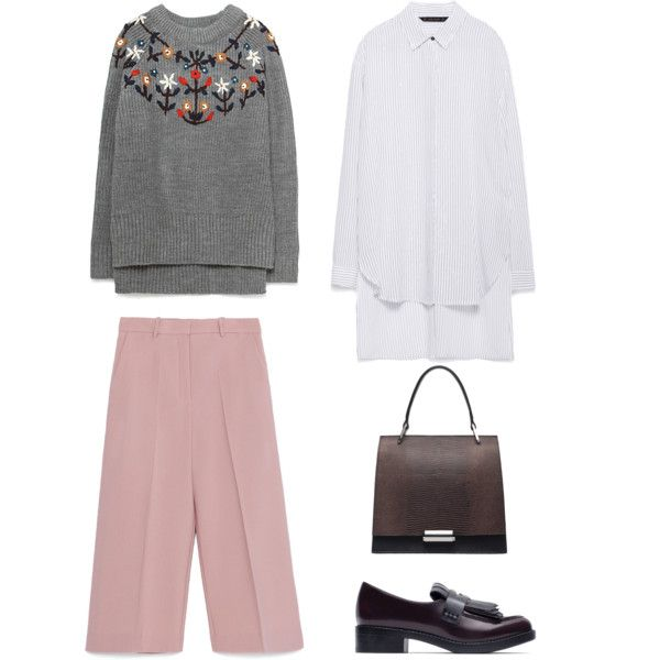 To my client from Moscow #stylist #work by olga-chistogasheva on Polyvore featuring polyvore, fashion, style and Zara