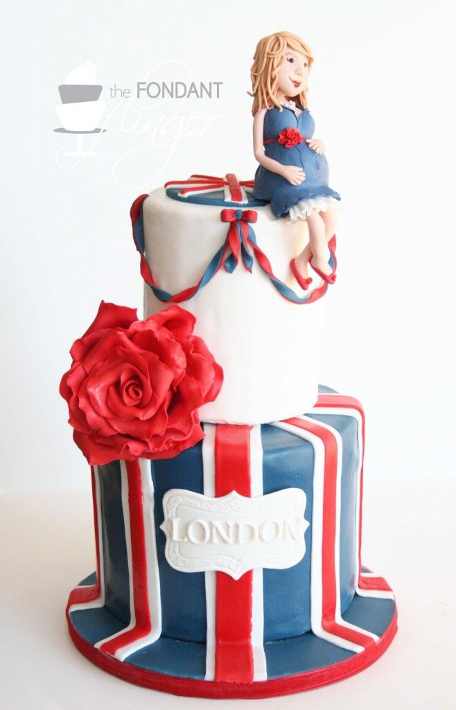 LOVE this cake, and LOVE the name London for a little girl!