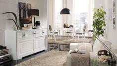 Comedor moderno blanco Moira en Ámbar Muebles