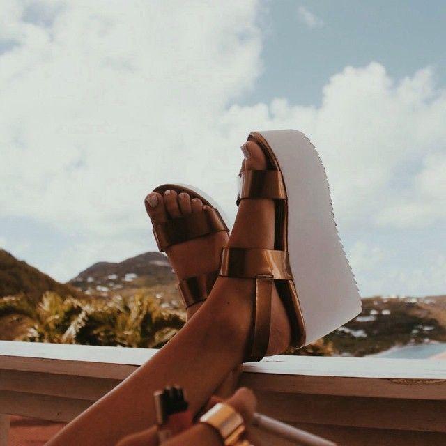 Opehelie in the #ShoeCult Bianca Flatform #metallic #bronze || Get the shoes: http://www.nastygal.com/shoes/shoe-cult-bianca-flatform?utm_source=pinterest&utm_medium=smm&utm_term=ngdib&utm_content=the_cult&utm_campaign=pinterest_nastygal: