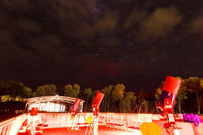 The Cosmos Centre and Observatory ouside of Charleville is perfect for viewing the night skies. With the nearest major town sitting hundreds of kilometres away, the sky is clear and free of any light pollution giving an absolutely breathtaking view of the stars #thisisqueensland