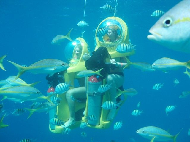 BOSS Underwater Adventure in Mahogany Bay, Isla Roatan.  This could also be on our agenda.  Looks fun.