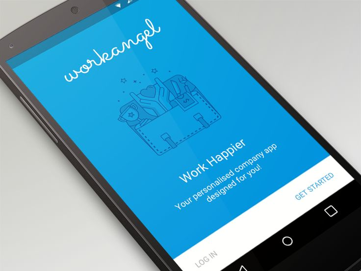 Dribbble - WorkAngel Signup - Material Design by Hayley Cattlin #UI #UX
