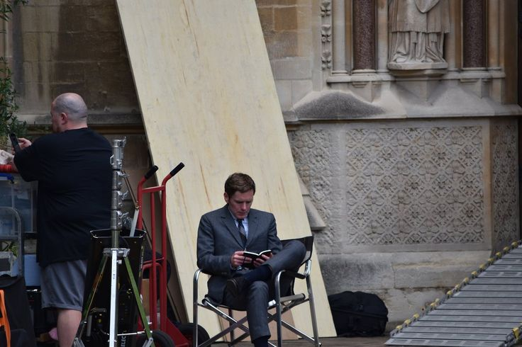 Endeavour filming in Oxford - 16th August 2017 photos by Nancy Keating