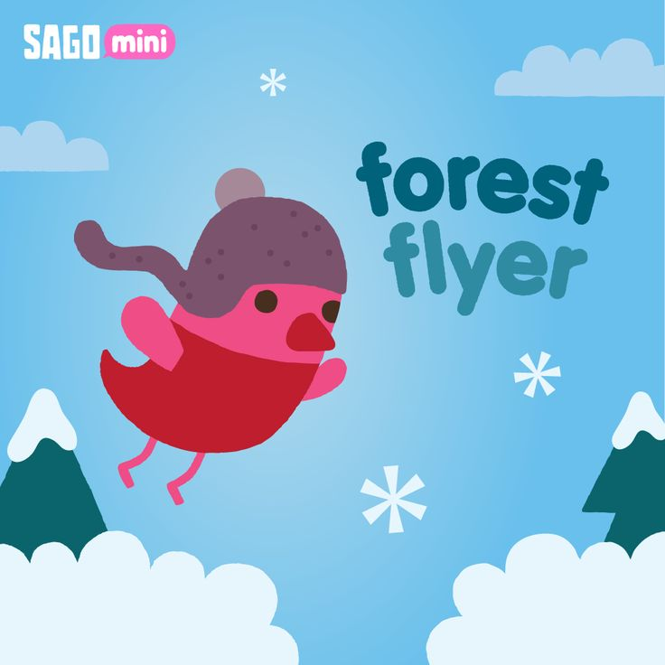 Winter has come to Sago Mini Forest Flyer for the holiday season. Build a snowman, ice skate and light up the tree with Robin now. Free!   https://itunes.apple.com/app/id640702076?mt=8