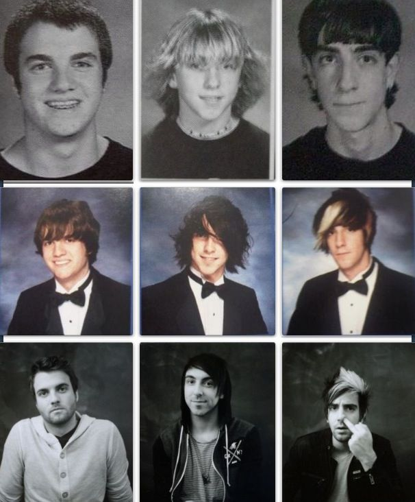 Rian Dawson, Alex Gaskarth & Jack Barakat of All Time Low        holy mother of shisnitz!!!!!!!!   aweeeee