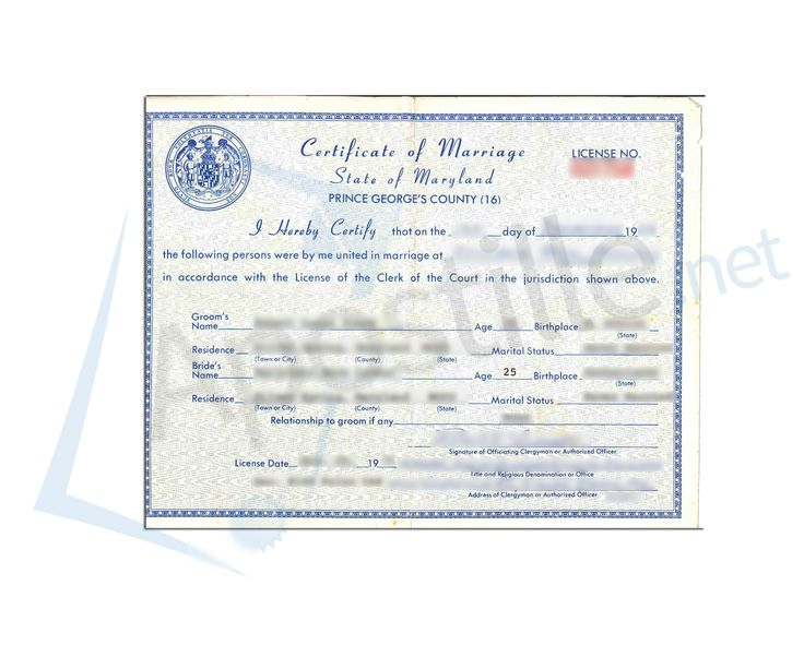 21 best State of Maryland Sample Apostille images on Pinterest - sample marriage certificate