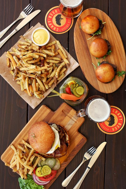Food Photography for Steins Beer Garden in Mountain View, CA.