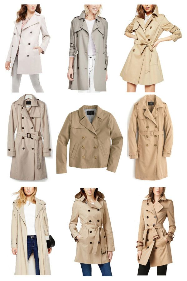 Petite Trench Coat Guide: The Minted Mama #petites #petitecoats
