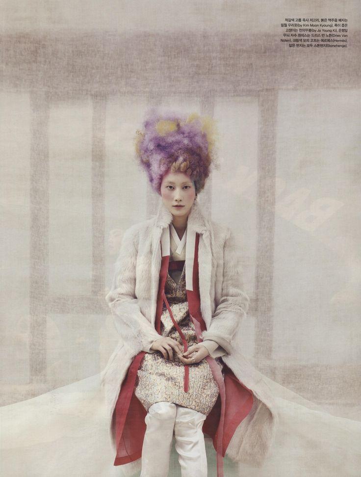 Powdery Flower for Vogue Korea Jan 2014 10