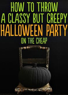 How to throw a classy but creepy Halloween Party ~ 24 Beautiful And Stylish Ways To Decorate For Halloween
