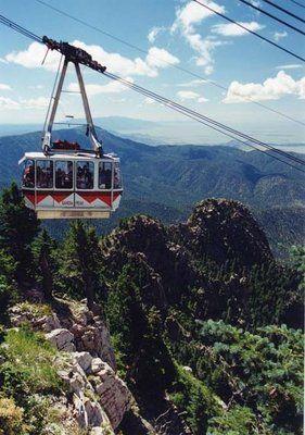 Sandia Peak in Albuquerque New Mexico