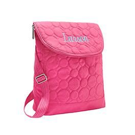 This versatile purse offers functionality and style. Wear it four different ways simply by changing the straps – as a regular backpack, one-shoulder backpack, crossbody or shoulder bag. It has two large compartments and a front flat pocket, so you'll have enough room to carry everything you need. There's even a patent pending on the innovative new design!