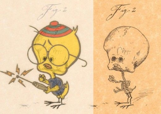19 best Skeletons Of Cartoon Characters images on Pinterest ...