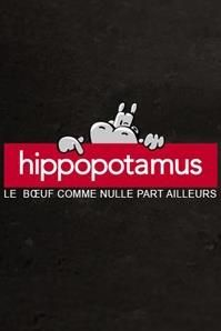 Logo of a famous French restaurant chain: Hippopotamus