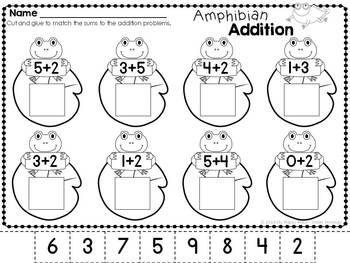 Frog unit, kindergarten, 1st grade $