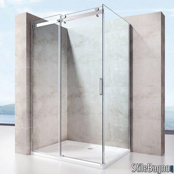 Oltre 20 migliori idee su box doccia su pinterest bagni - Box doccia salvaspazio ...