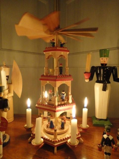 German Christmas Decorations To Make Part - 50: German Christmas Pyramids