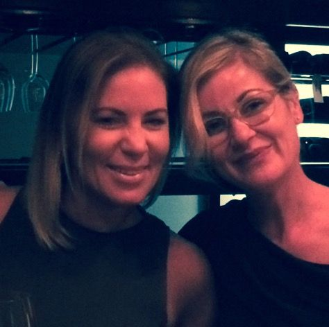 Li Hawkins with Karley Beadman at the Ritz Carlton, DIFC, Dubai