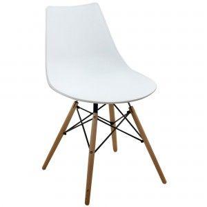 étourdissant chaise retro blanche | Décoration française ...