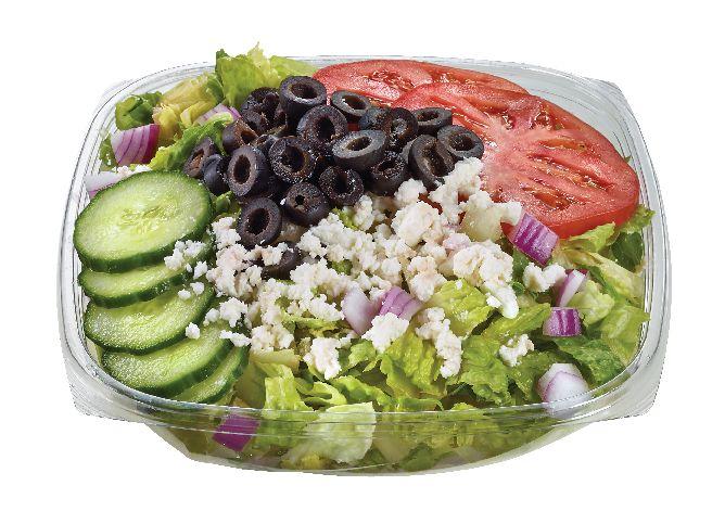 Freshly made Greek Salad from #YummyMarket