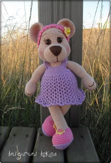17 Best images about Doll Bear on Pinterest Free pattern ...