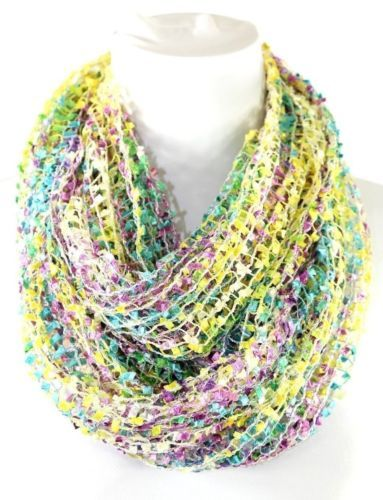 Confetti Scarf - This might be a nice light weight scarf.