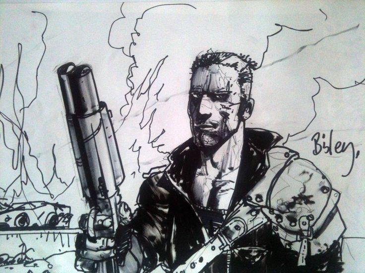 Carmine Smeriglio's Mad Max – The Art of Simon Bisley