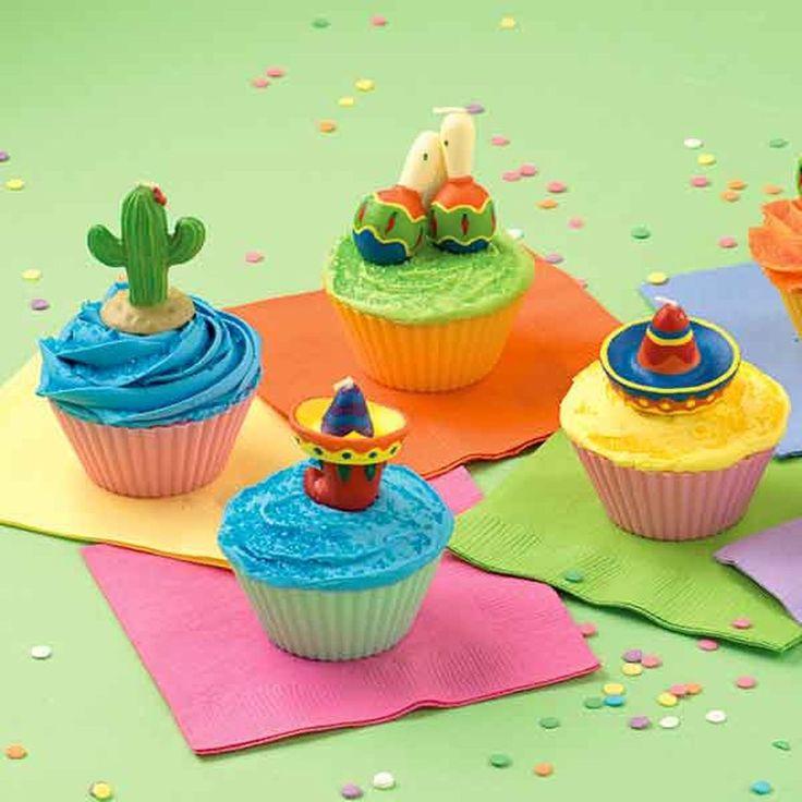 Fiesta Cupcakes | Wilton