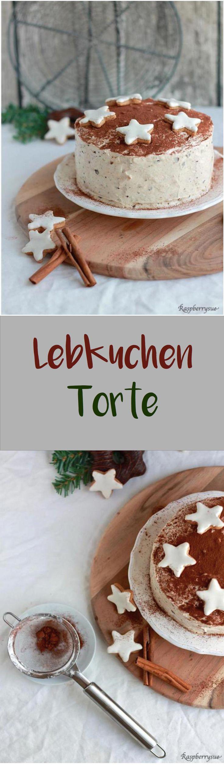 Lebkuchen-Torte für Weihnachten, eine Lieblingstorte in unserer Familie