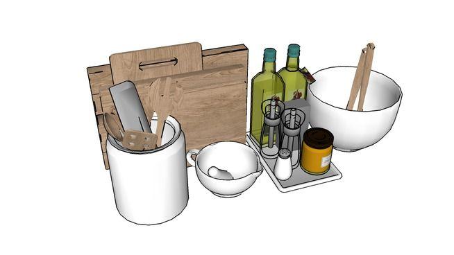 Visualização grande do modelo 3D de kitchen utensil