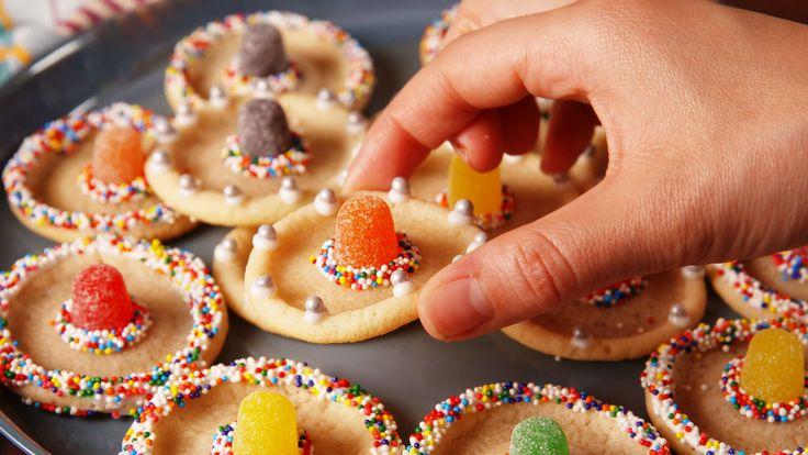 Sombrero Cookies  - Delish.com