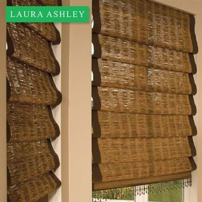 Signature Woven Wood Shades from Blinds.com offer many unique styles, patterns and color options that will elevate any room's decor and provide natural tranquility.