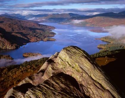 Loch Katrine from Ben A'an  Joe Cornish