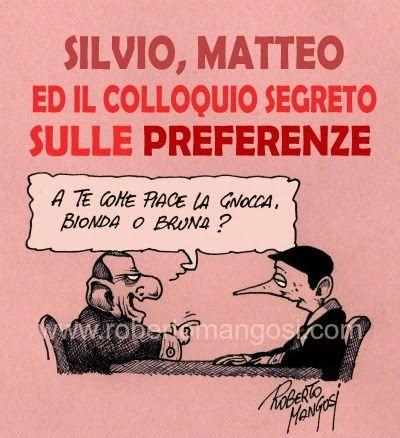 """""""Il Mondo in una vignetta"""" di Roberto Mangosi: Chi va con lo zoppo, impara a zoppicare…"""