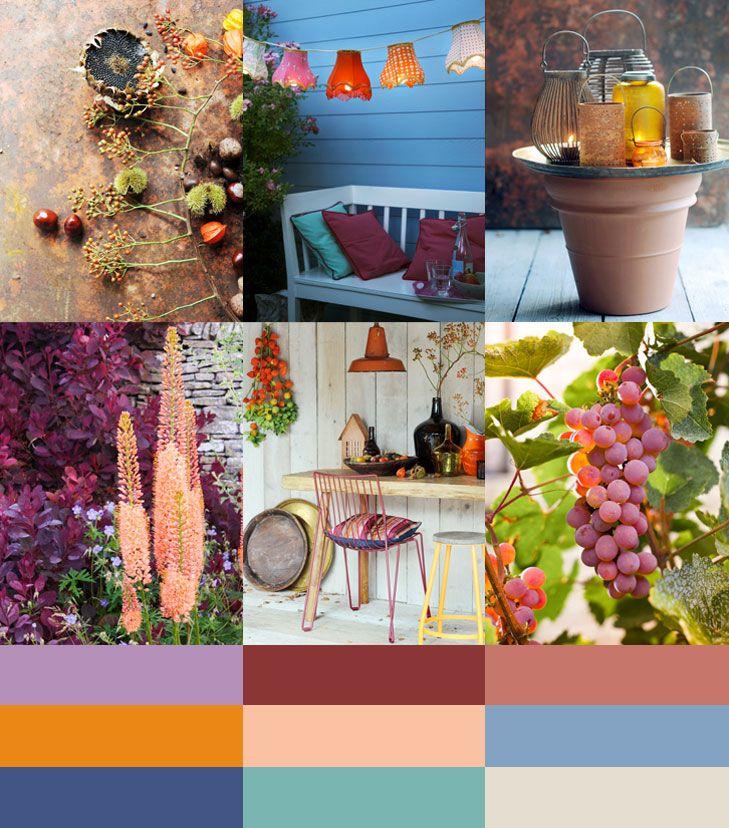 Color palette: September Night by Kleurinspiratie.nl